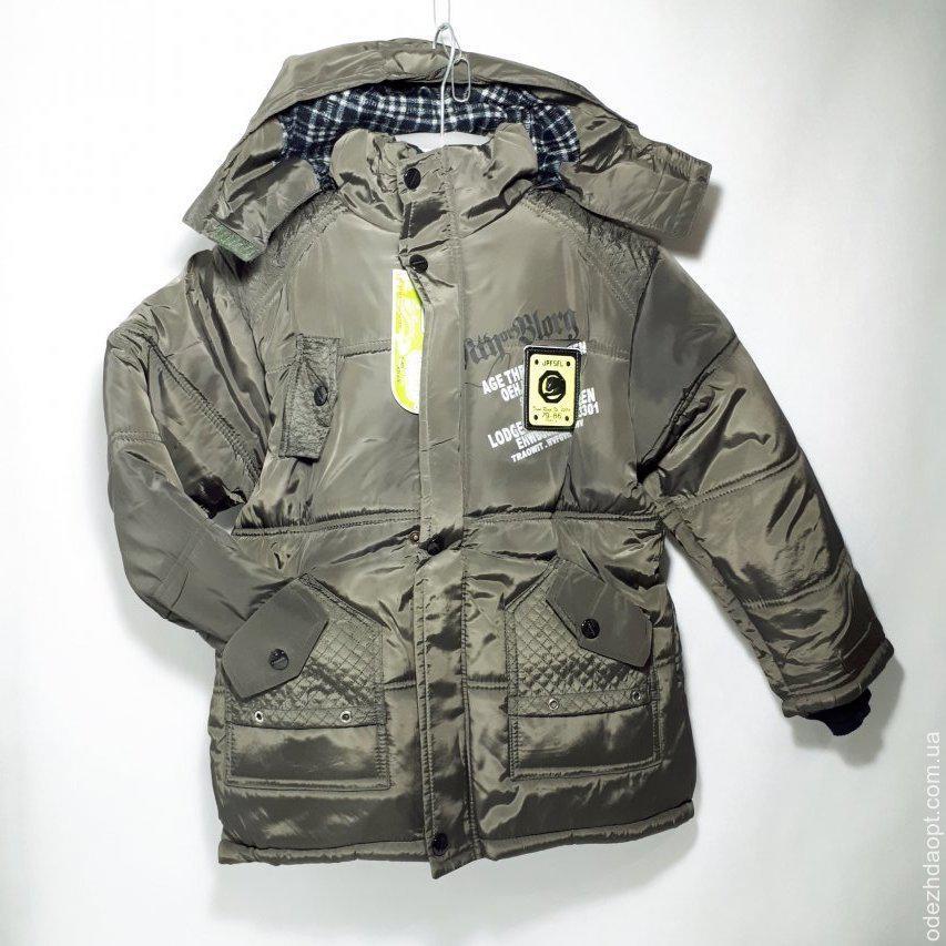 Куртка Длинная Эмблемма  4033 весна осень 1