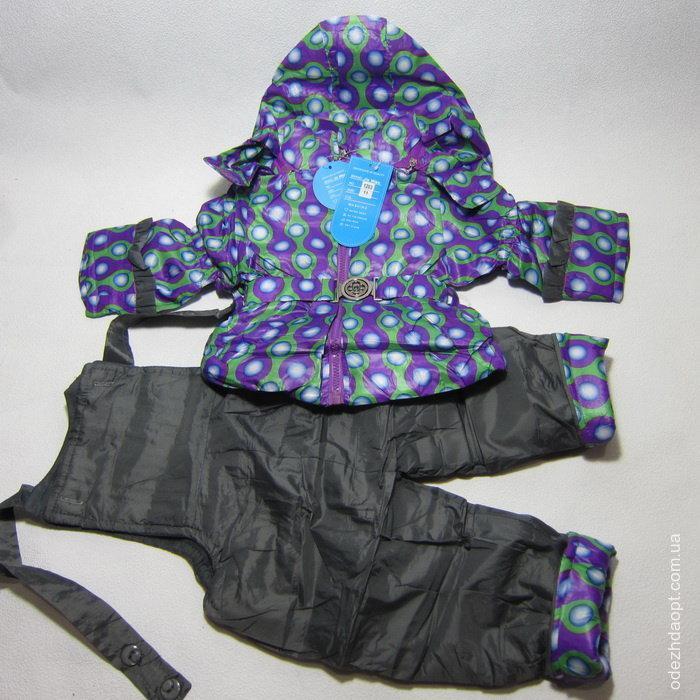 Куртка +комбез Горошек 1203-3970-3 весна-осень