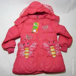 Куртка  длинная 'Две Бабочки' 3820 Осень-Весна