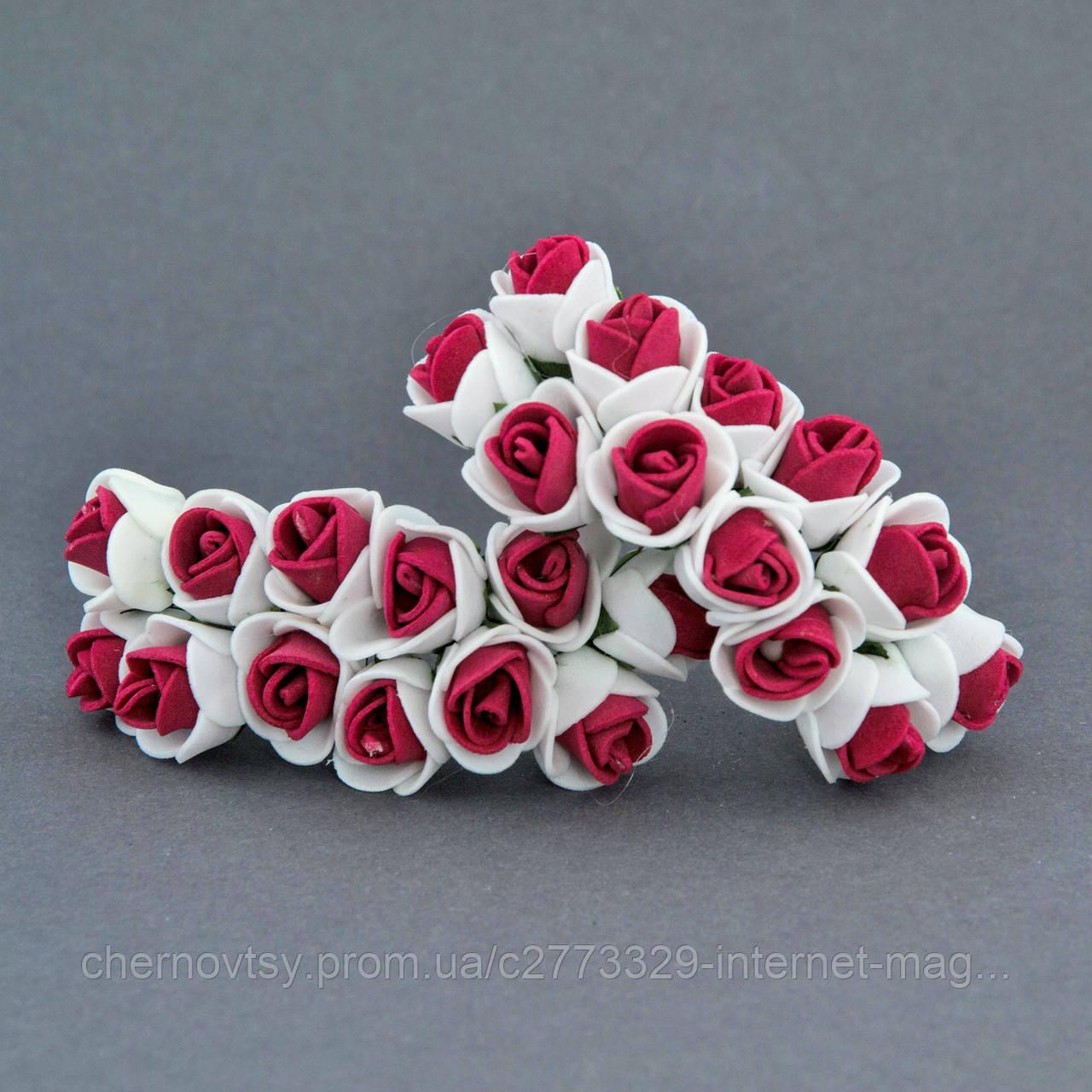 Троянди з фоамірану 2.5 см, уп. 144 шт.