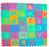 Коврик - пазл напольный Украинский алфавит, коврик для ребенка