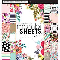 Набір паперу - Botanicals - Mambi - 30x30 ЦІНА ЗА ПІВ НАБОРУ!