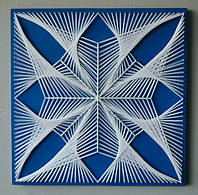 Картина String Art Мандала 8 8 40х40 см