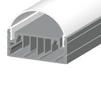 Профиль алюминиевый накладной светодиодный ЛН50 для подсветки LED (ТИС)