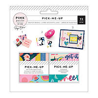Набір паперу - mini - Pick Me Up - Pink Paislee - 5x5 - (2 Pieces)