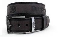 Ремень мужской кожаный Diesel ширина 45 мм. реплика 930579