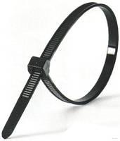 Кабельные стяжки Lemanso 150x2,5mm чер.  (100шт.)