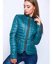 Куртка демисезонная женская № 32 (р. 40-50) Мятный