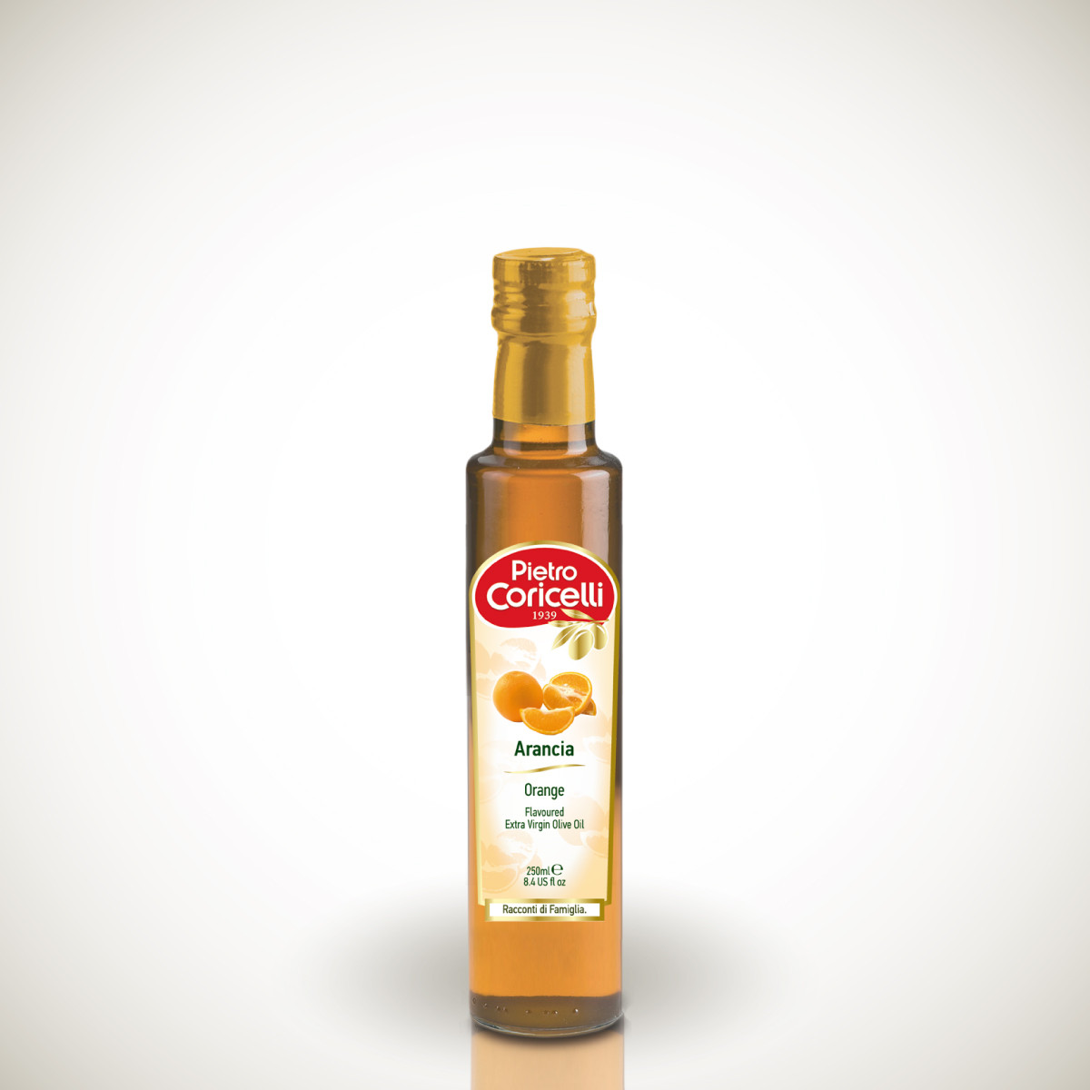 Оливковое масло с апельсином Pietro Coricelli Arancia, 250 мл. Италия