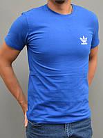 Мужская спортивная футболка Adidas (Адидас ориджинал) - остались размеры 46,48, синяя