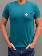 Мужская спортивная футболка Adidas (Адидас ориджинал) - остались размеры 46,48, индиго