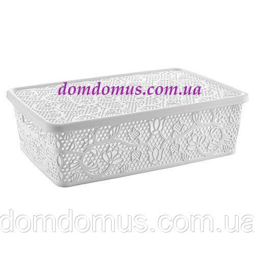 "Ажурна ""Lace mini hobby box"" 10 л Tuppex, Туреччина 8213"