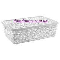 "Корзина ажурная ""Lace mini hobby box"" 10 л Tuppex, Турция 8213"