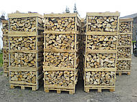 Колотые дрова из разных пород дерева, фото 1
