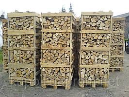 Колотые дрова из разных пород дерева
