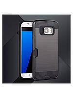 Чехол со слотом для Samsung Galaxy S7 черный