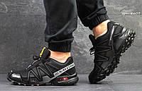 Кроссовки Salomon Speedcross 3 (черные) мужские кроссовки саломон 4607