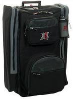Большой чемодан-рюкзак на колесах