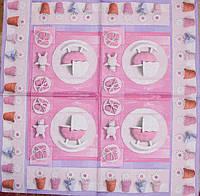 Декупажные салфетки новорожденная 341