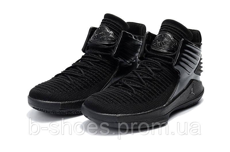 Мужские баскетбольные кроссовки Air Jordan 32 (Black)