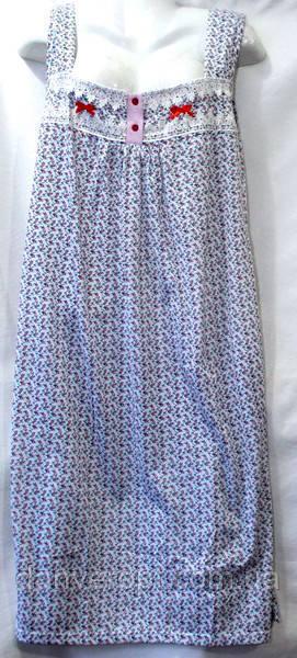 Ночная рубашка женская стильная на бретельках размер норма XL-5XL купить оптом со склада 7км Одесса