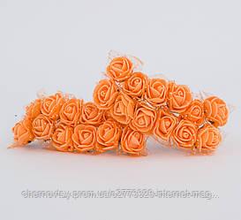 Троянди з латексу з фатином 2 см, уп. 144 шт.