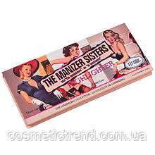 The Manizer Sisters Makeup Highlighter набір хайлайтеров для обличчя і тіла 3х1 6760-01