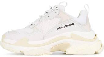 Женские кроссовки Balenciaga Triple S Sneaker White (люкс копия)