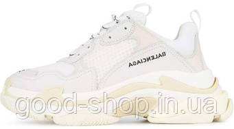 Мужские кроссовки Balenciaga Triple S Sneaker White (люкс копия)