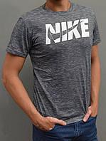 Чоловіча спортивна футболка Nike (Найк) - розміри 44-54, сіра