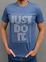 Чоловіча спортивна футболка Nike (Найк) - розміри 44-54, джинс