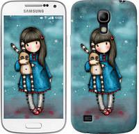 "Чехол на Samsung Galaxy S4 mini Duos GT i9192 Девочка с зайчиком ""915c-63-328"""