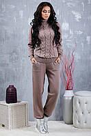 Костюм женский вязанный Милани (Капучино), фото 1