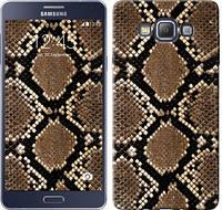 "Чехол на Samsung Galaxy A7 A700H Кожа змеи ""901c-117-328"""