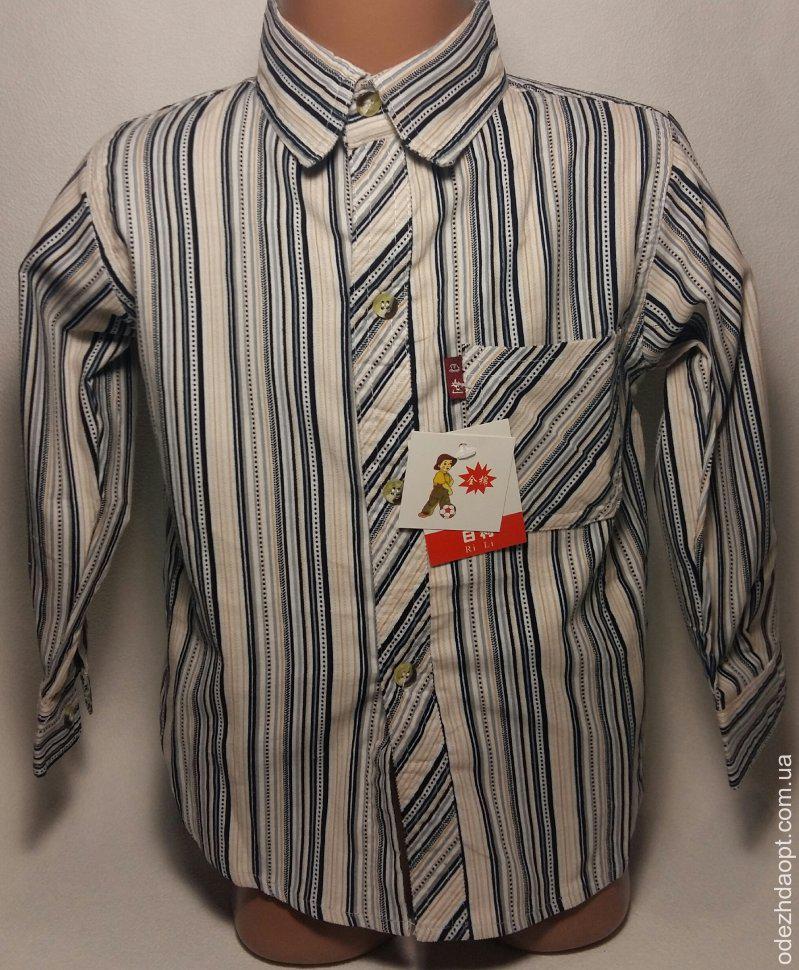 1265 Рубашка микровельвет
