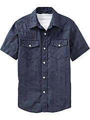 Рубашка на кнопках  Old Navy (США)  (размер S- 5-6 лет)