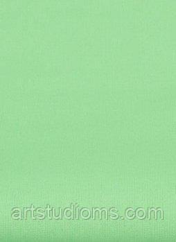 Ткань. Хлопок мятно-салатовый однотонный. Отрез 50х40см