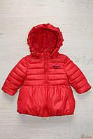 Куртка ярко-красного цвета для девочки (80 см.)  No name 2129000459385
