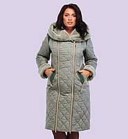 Женский зимний пуховик. Модель 115. Размеры 50-60