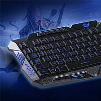 Клавиатура с яркой светодиодной подсветкой  Keyboard М-200
