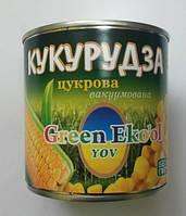 """Кукурудза цукрова 340г """"Green Eko'ol"""" ж/б (1/12 або 8), фото 1"""
