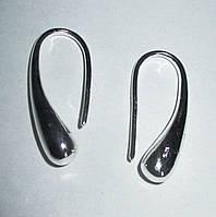 """Серебряные серьги """"Капля"""" от студии LadyStyle.Biz, фото 1"""