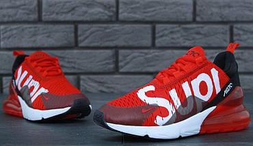 Мужские и женские кроссовки Nike Air Max 270 x Supreme, фото 3