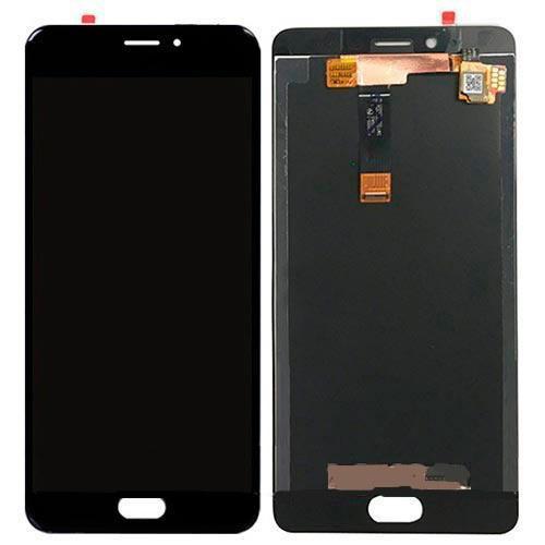 Дисплей (LCD) Meizu E2 (M2e) с сенсором чёрный