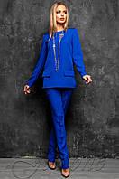 2b2c6b0b77b0 Офисный брючный костюм Дорис электрик Jadone Fashion 42-48 размеры