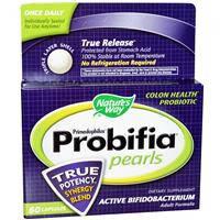 Пробиотики, Natures Way, Жемчужины примадофилус, 60 капсул