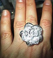 "Серебряное кольцо ""Роза пустыни"" от студии LadyStyle.Biz, фото 1"