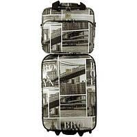 Комплект David Jones 1001 Brooklyn (Средний), набор дорожных чемоданов на колесиках