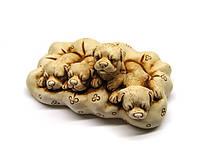 Фигурка декоративная Щенки на коврике