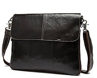 Мужская сумка через плечо Bexhill BX8007C Темно-коричневая